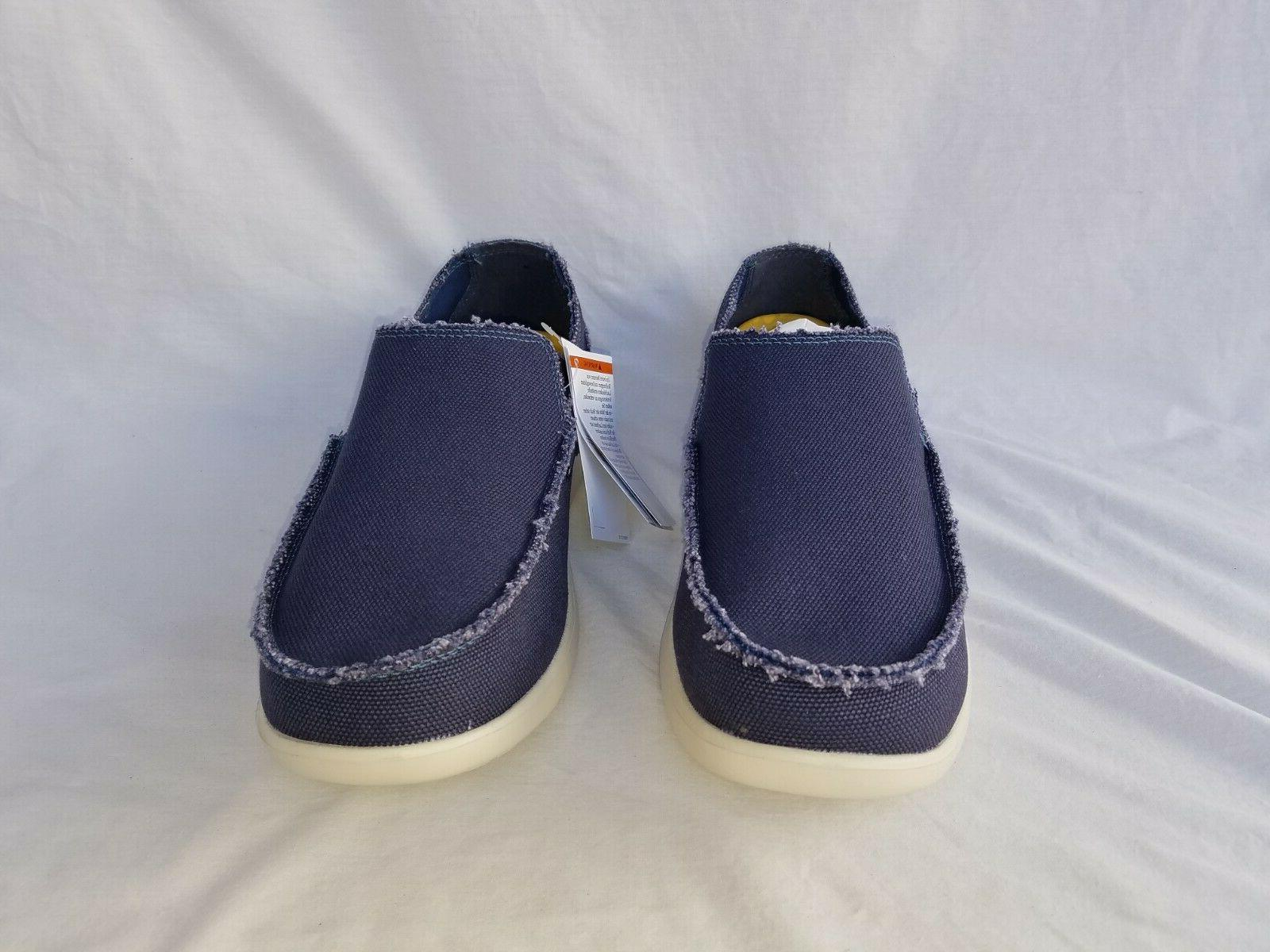 New Crocs Cruz Slip Loafers Navy Stucco