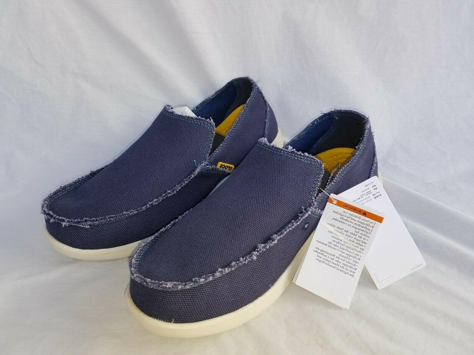 New Santa Cruz Canvas Slip Loafers 10128-46K