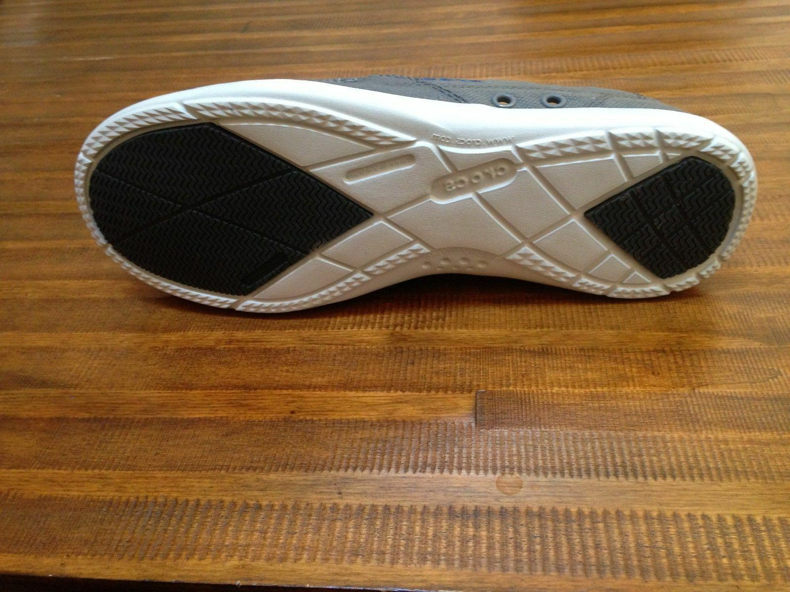 Casual Slip Gray/ blue New with tags