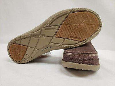 New Crocs Men's Canvas On Espresso / Khaki