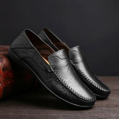 New Men's Driving Shoes Loafers Comfortable