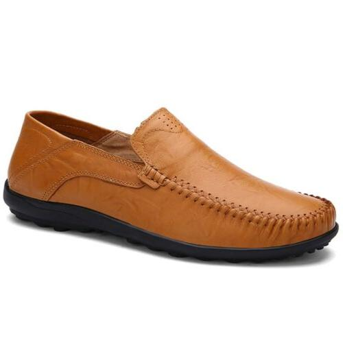 New Men's Moccasins Shoes Loafers Slip Comfortable