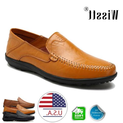 new mens driving moccasins shoes leather loafers