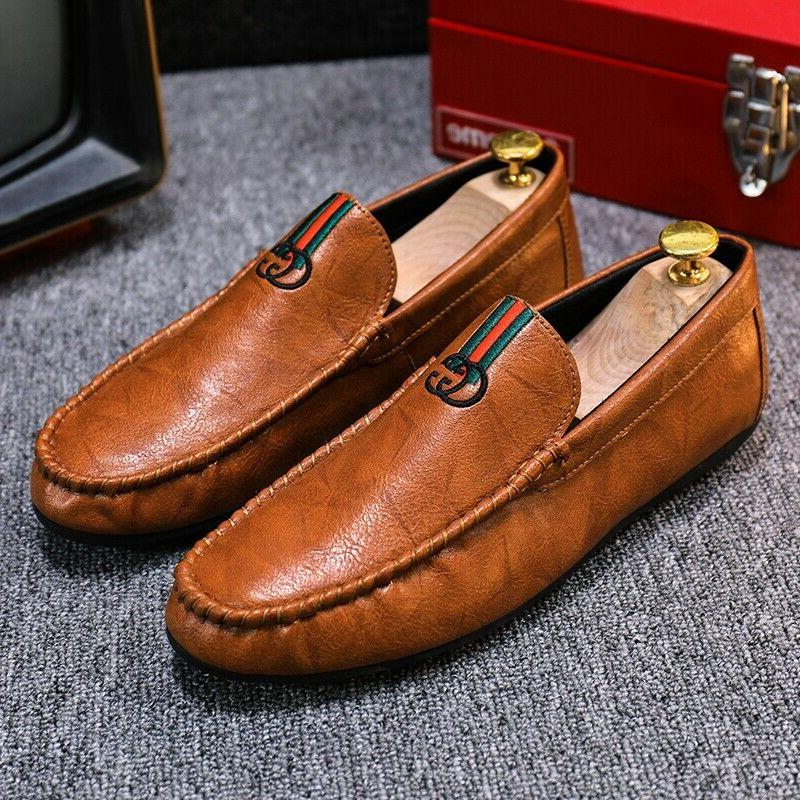 Fashion Shoes Men's Driving Shoes Loafers Business Leather Sandals