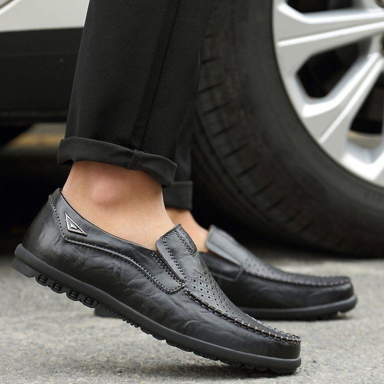 New Men's Driving Moccasins Shoes Comfortable Casual