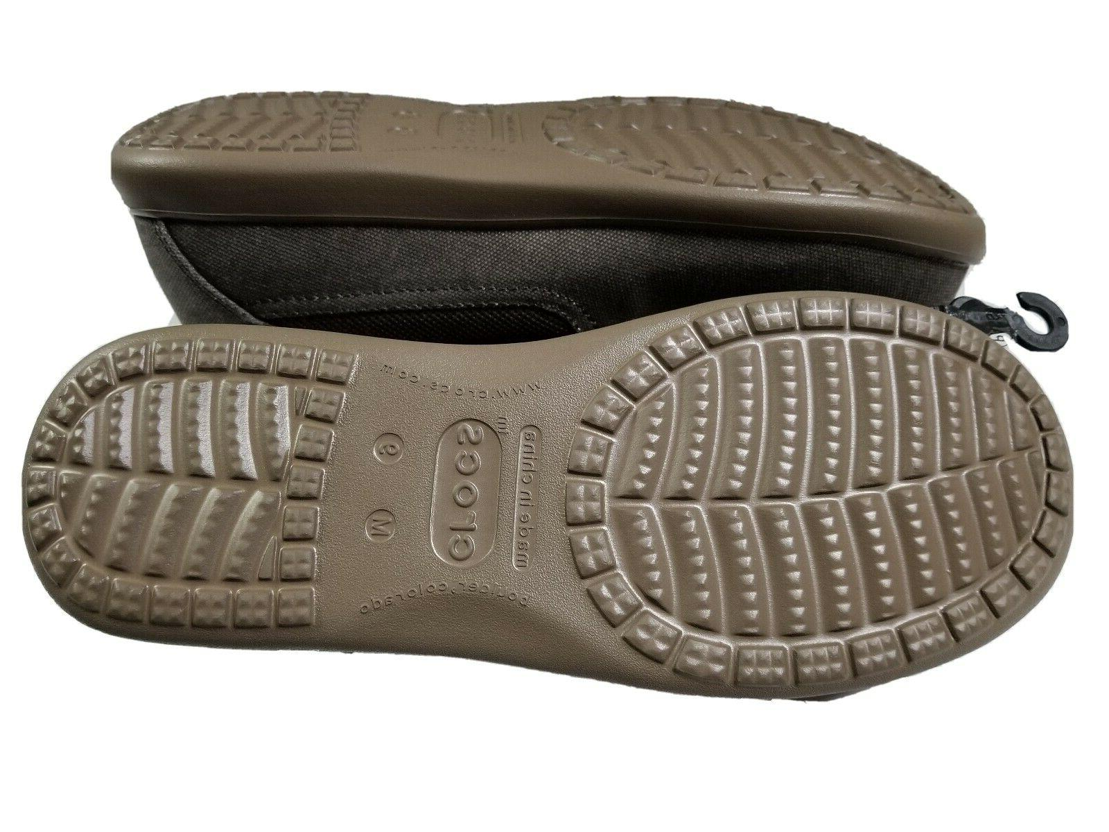 New Men's Cruz Luxe Slip-ons Canvas 9 10