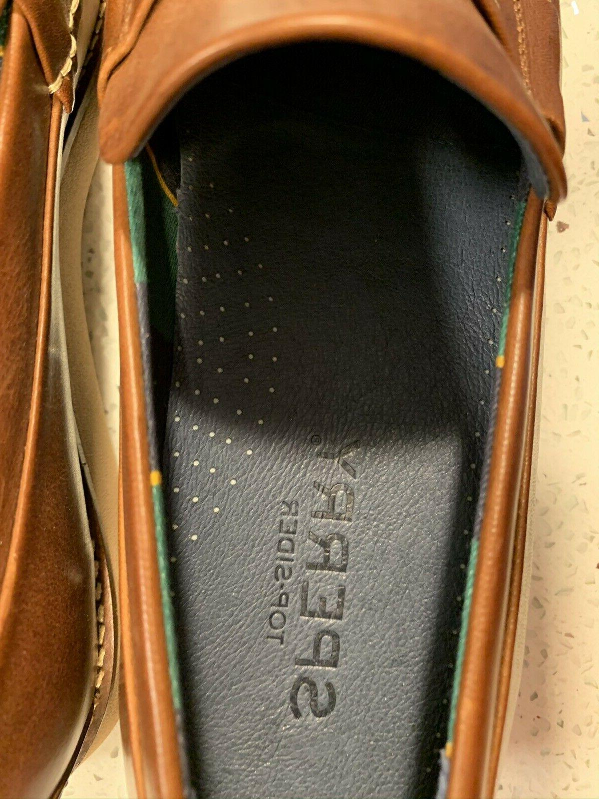 New Sider Brown Penny Loafers - Sz