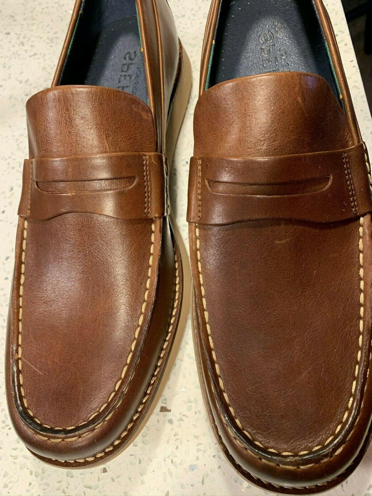 new mens sperry top sider brown kennedy