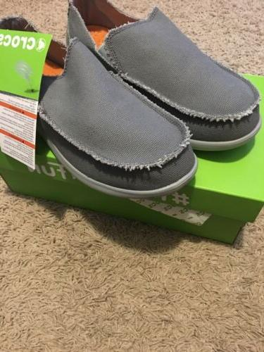 new santa cruz loafer light grey charcoal