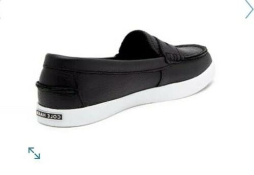 New Cole 8 Nantucket Leather Shoes Black