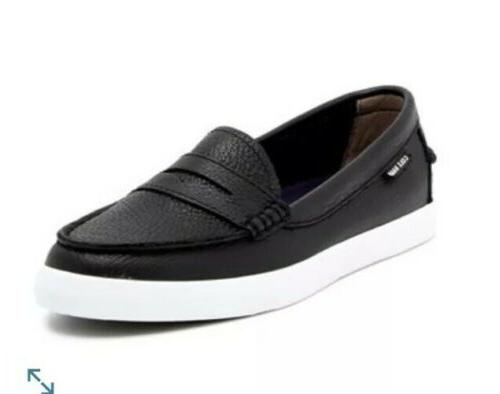 new women s 8 nantucket leather loafer