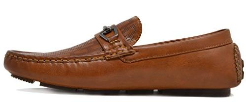 BRUNO YORK Men's Loafers Moccasins Shoes Size 10
