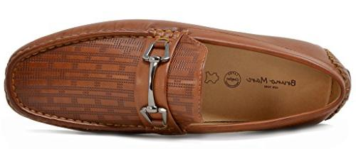 BRUNO MARC NEW Men's Tan Loafers 10 D