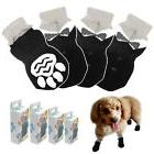 Non-Slip Dog Socks Knitted Pet Puppy Shoes Paw Print for Sma