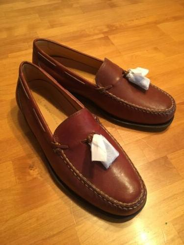 nos tassle loafers mens size 8 w