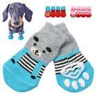 Paw Socks for Small Large Dogs Knitted Cotton Non Slip Pet P