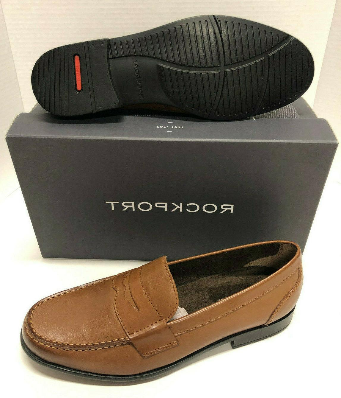 penny loafers brown leather mens dress casual