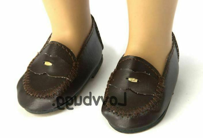 penny loafers for american girl 18 inch