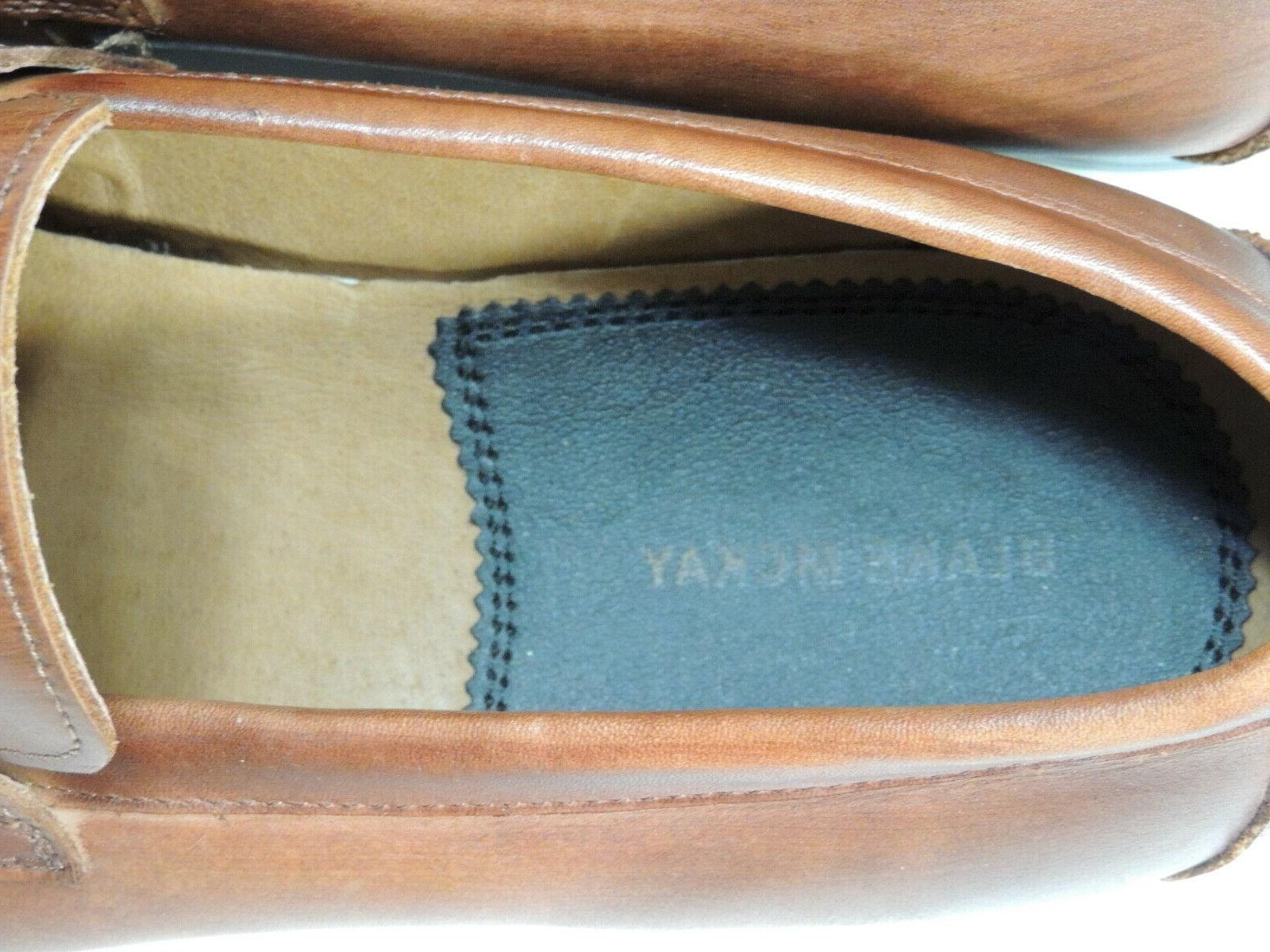 Blake Loafers Size Brown Genuine Leather