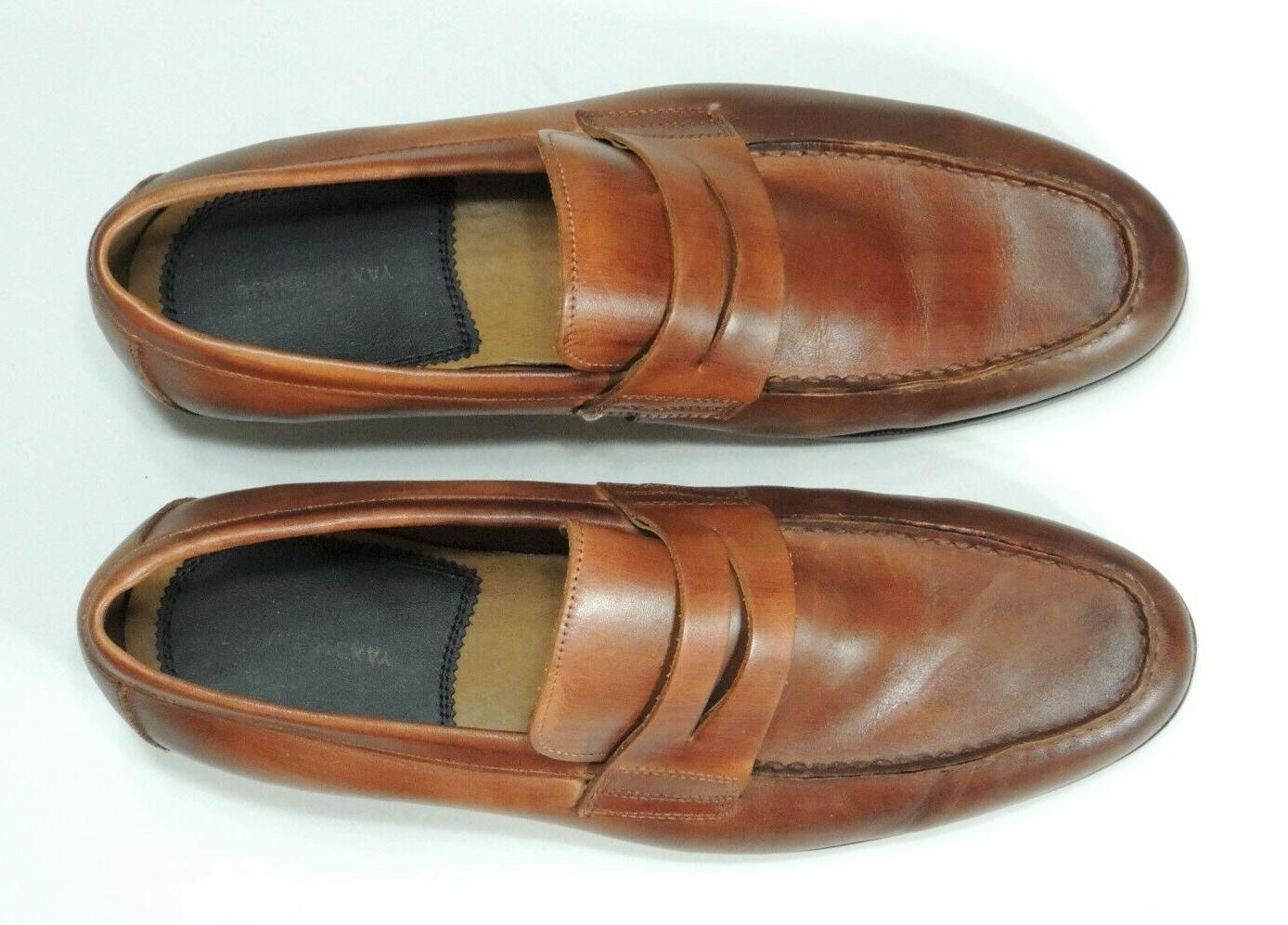 penny loafers size 10 5 brown mens