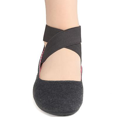 Alpine Ballet Flats Strap Shoes On Loafers