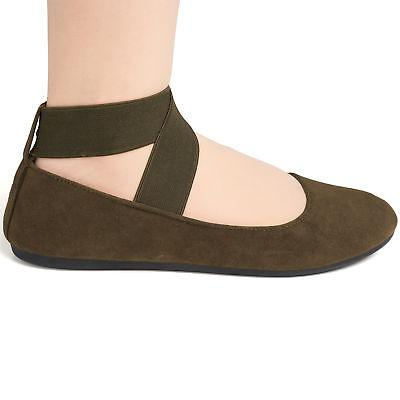 Alpine Ballet Elastic Strap Shoes On Loafers