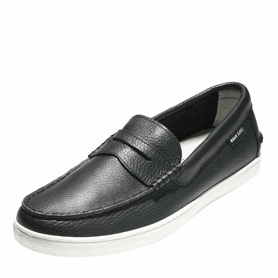 Cole Leather Penny Loafer Slip Ons New