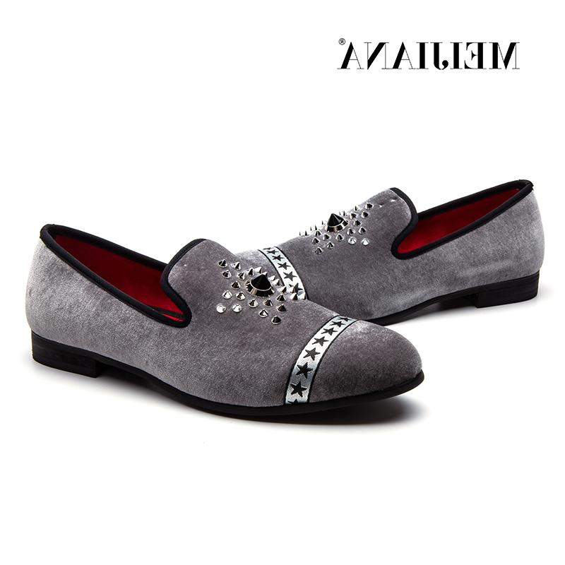 Velvet Pointed Slip Flat Shoes Driving Bottom <font><b>Men</b></font>