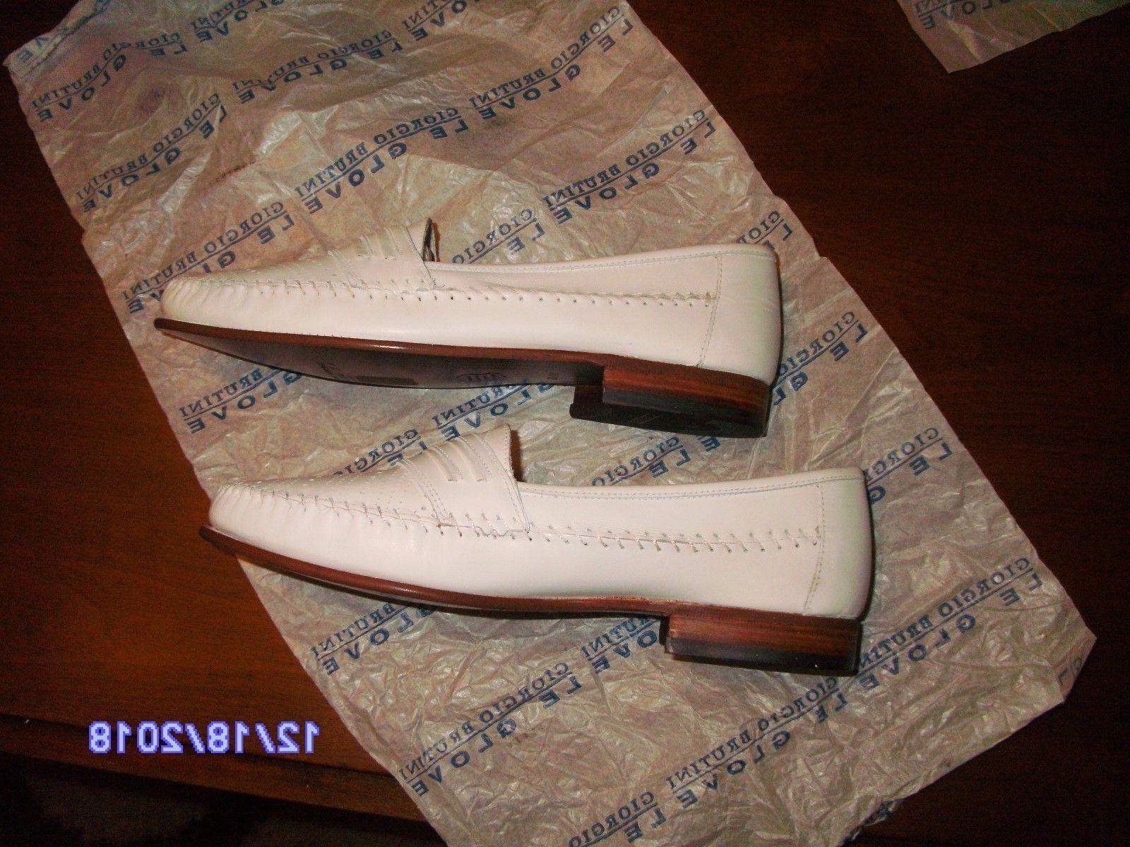 Giorgio Rare Shoes White Extra Wide