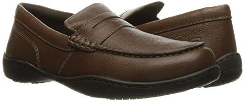 Rockport Men's Rocker Ii Penny Loafer- Tumbled-10