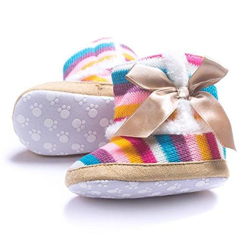 Round Toe Flats Snow Soft Shoes Toddler