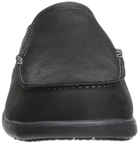 crocs Men's Santa 2 Leather Slip-On M US