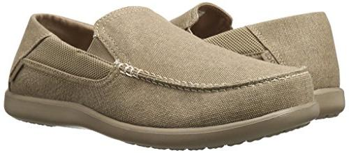 crocs Cruz 2 Loafer, Khaki/Khaki, US