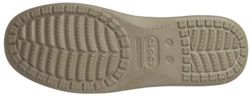 crocs Men's Santa 2 Luxe M Slip-On Loafer, Khaki/Khaki, US