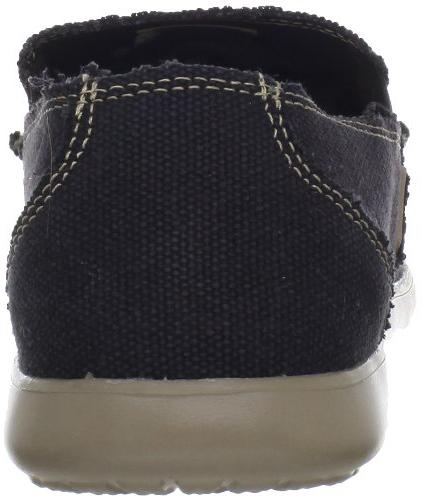Mens Crocs Black/Khaki Loafers Black/Khaki