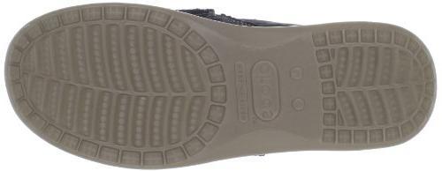Mens Cruz Black/Khaki Loafers 7 M, Black/Khaki