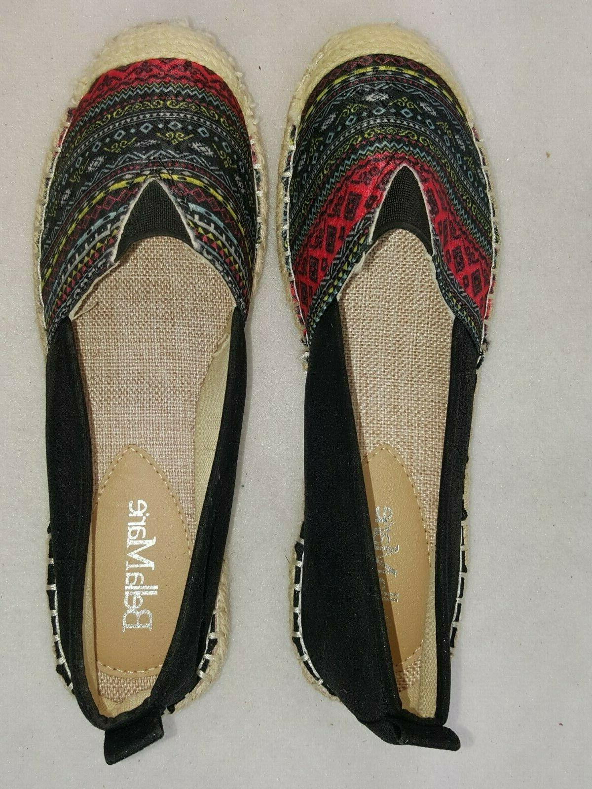 Bella Marie Shoes Fashion Slip On Flats Angela