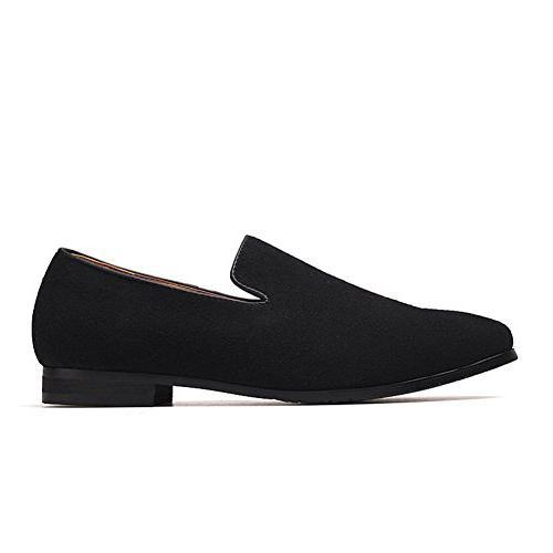 Men's Shoes PU Comfortable Color Fashion Driving Moccasins 44