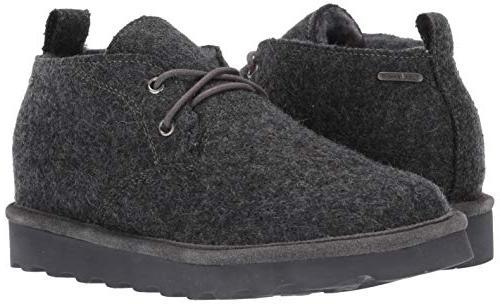 BEARPAW Men's Loafer, Gray US