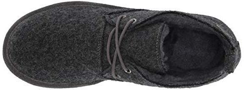 BEARPAW Men's Loafer, Gray M US
