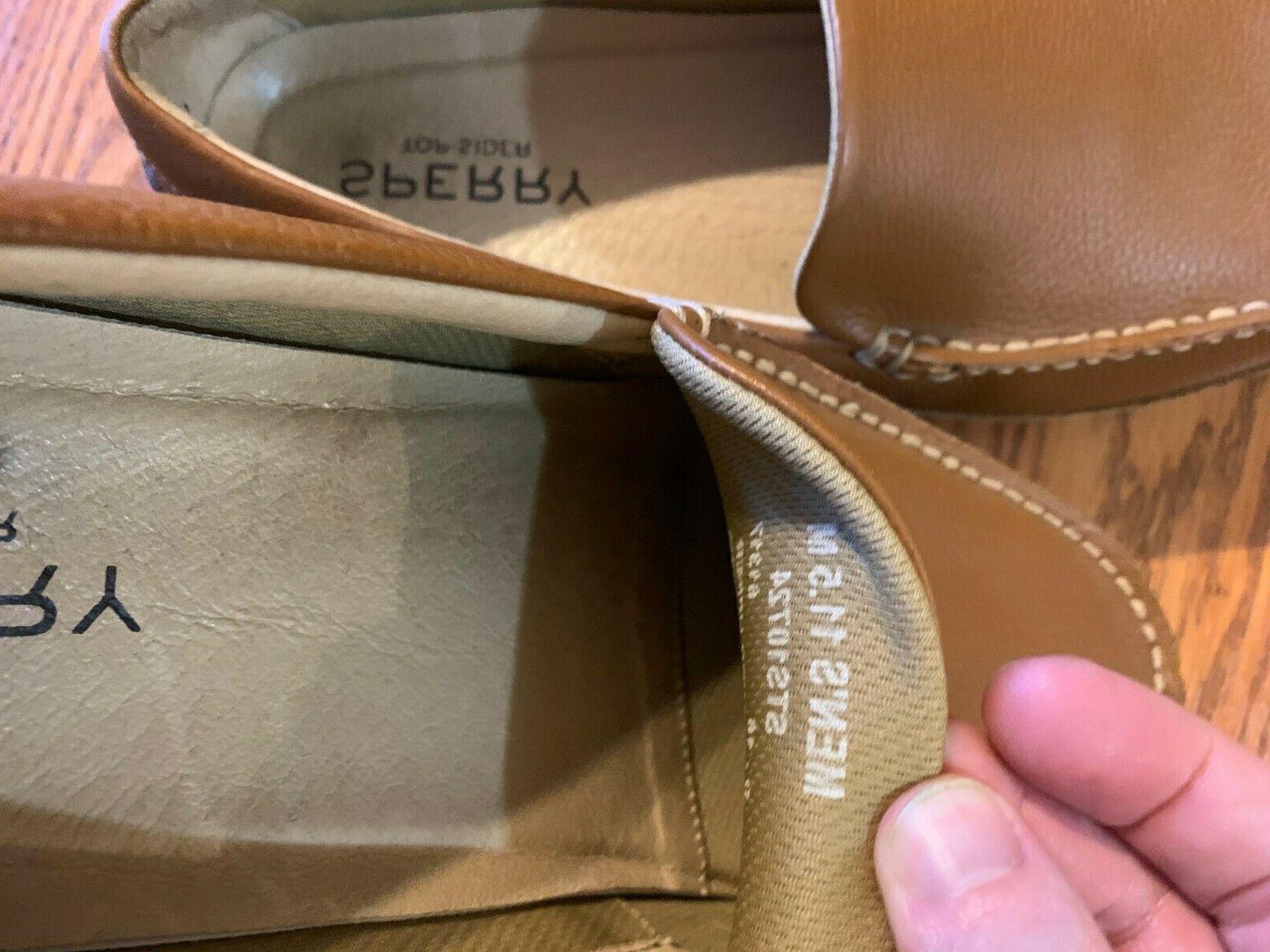 Sperry Men's Hampden Venetian Slip-On Loafer, SAHARA 11.5 US