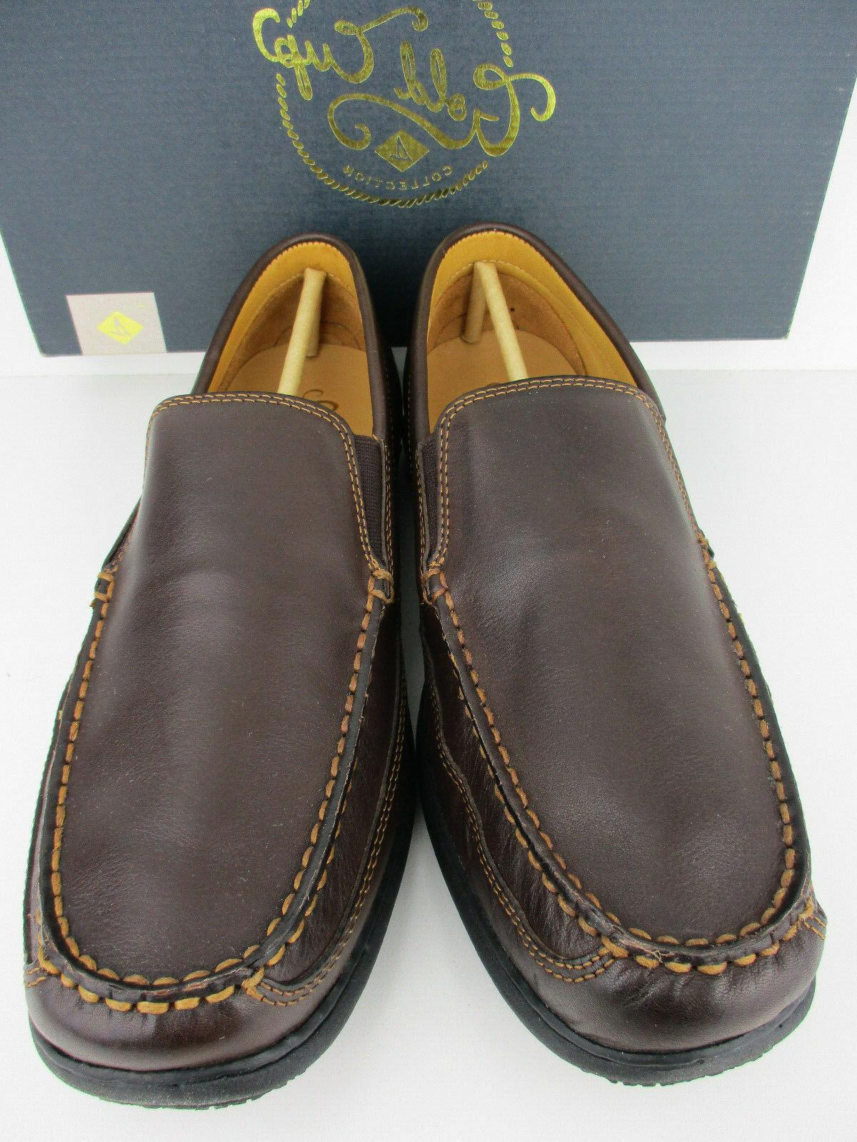 SPERRY TOP CUP MEN'S LOAFER BROWN WITH BOX