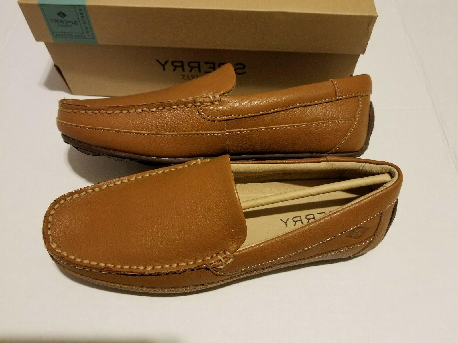 Sperry Top-Sider Hampden Venetian Sahara Leather Men's Sizes