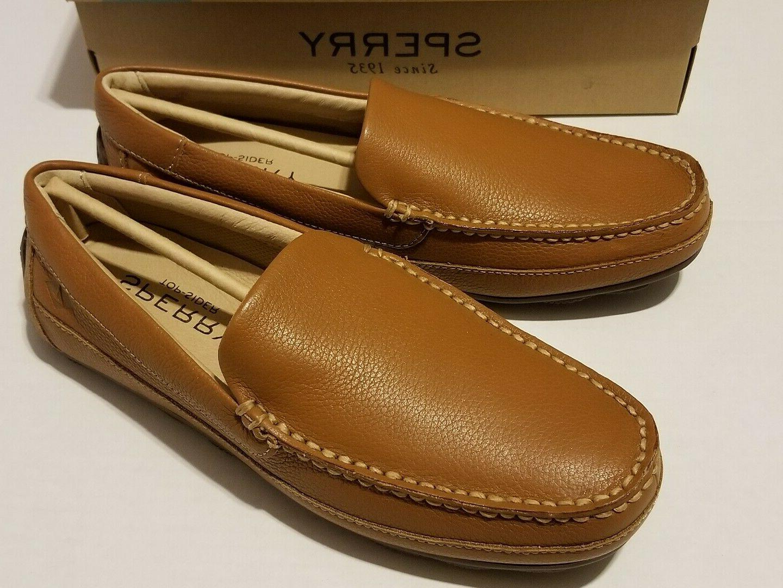 sperry top sider hampden venetian sahara leather