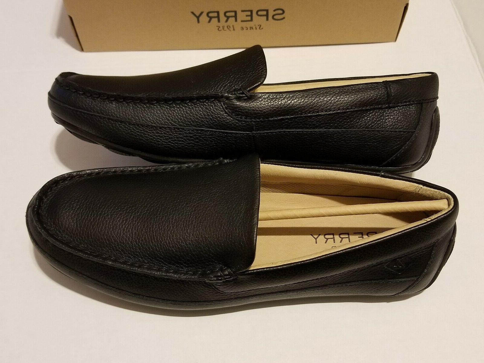 Sperry Top-Sider Black Leather loafers Sizes