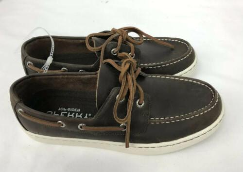 Sperry Sider Men 7; Brown New