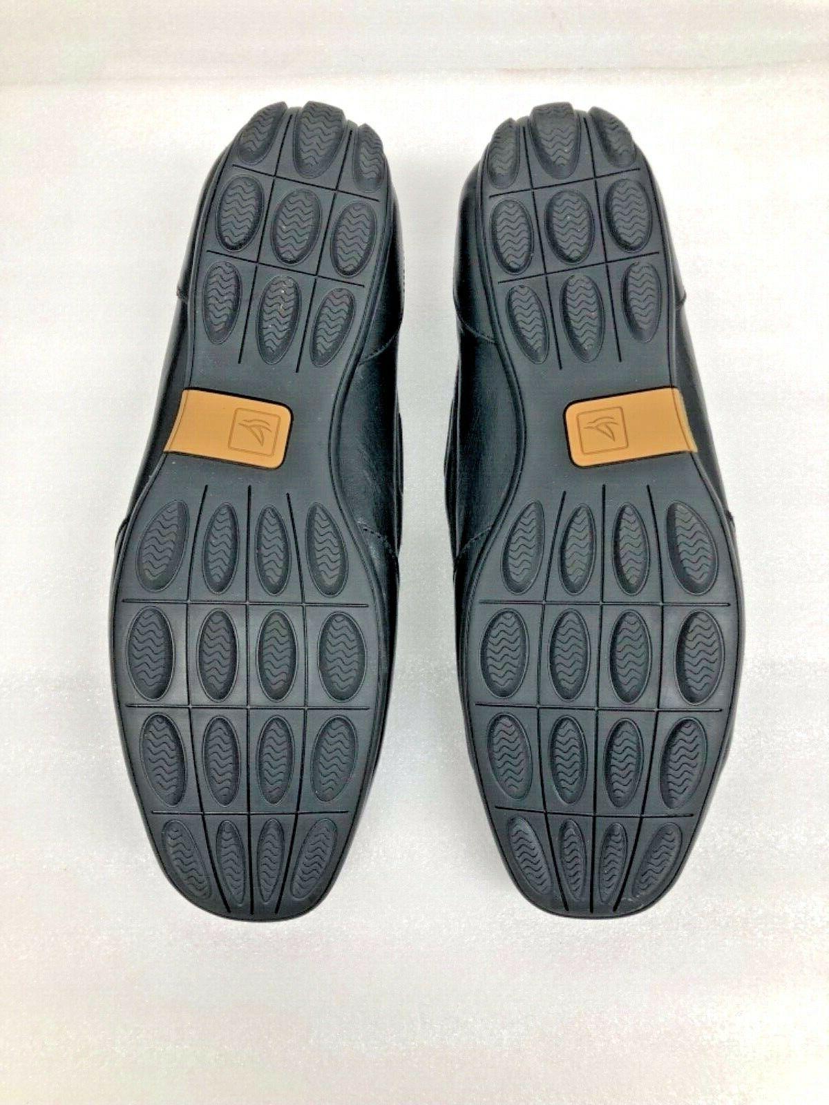 $90 Men's Loafer Size Black Leather