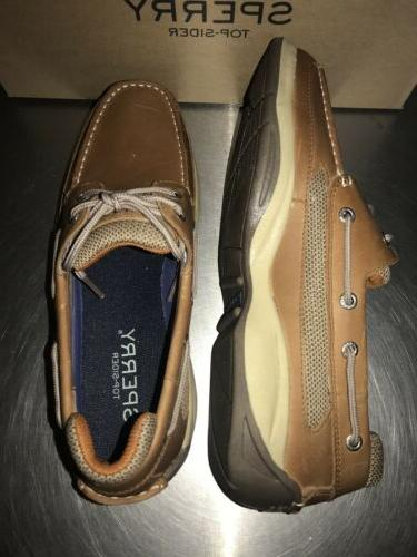 Sperry Top Lanyard Leather Loafers Men's Size 9.5