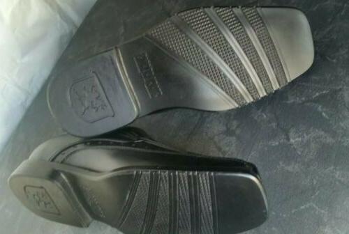 Stacy Adams Boys Dress Loafers Size 13.5 M Bike Toe Shoes Black