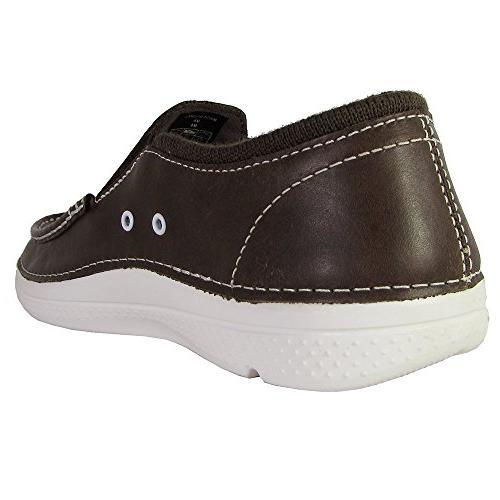Crocs Low Shoes, Espresso/White, US
